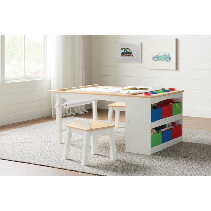 Craine Intermediate Kids 16 Piece Arts Crafts Table And Chair