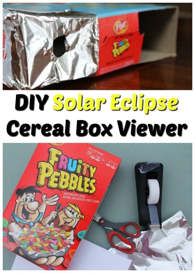 DIY Solar Eclipse Glasses - Easy To Make & NASA Approved! - Having Fun Saving & Cooking
