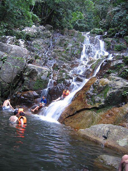 Asah Waterfall, Tioman Island, Malaysia