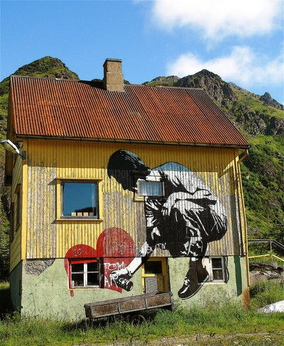 Heia Ballstad! : Øde dekor!