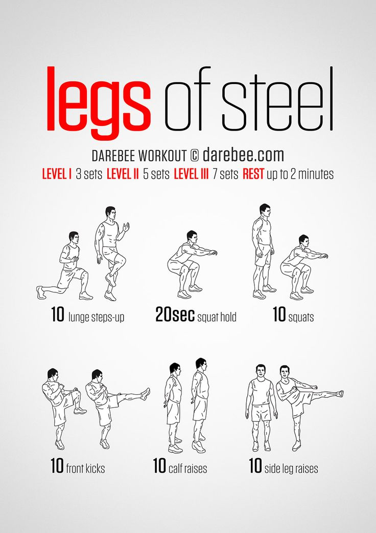 Legs of Steel Workout Remarkable stories. Daily