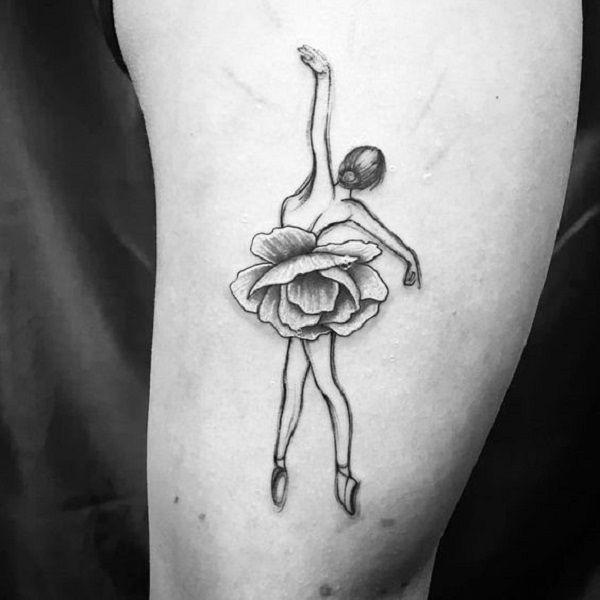65  Lovely Dance Tattoo Designs  <3 <3