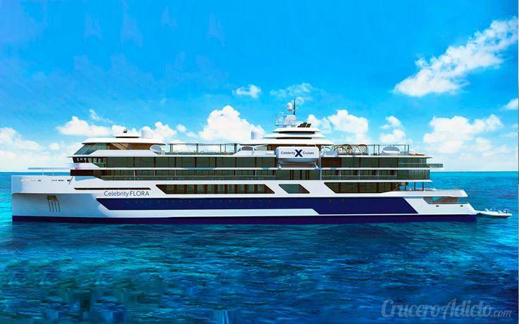 Celebrity Flora será el nuevo barco de la naviera Celebrity Cruises en sus itinerarios de expedición por las Islas Galápagos. Te lo presentamos!