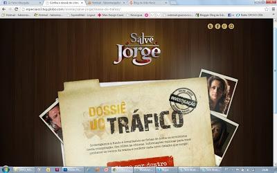 Rede Globo lança hot site dossiê para explicar aos fãs de Salve Jorge quem é quem na trama.