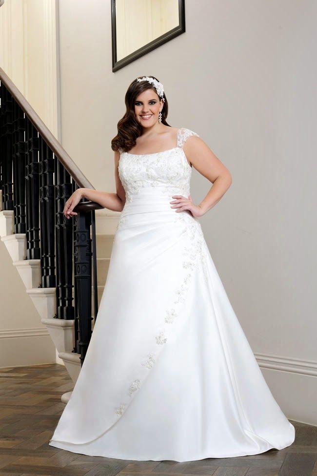 atractivos vestidos de novia para gorditas | moda y tendencias para
