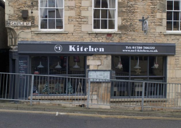 New steak house / American diner at 1 Castle Street, Stamford. Good reviews on TripAdvisor.  www.no1-kitchen.co.uk