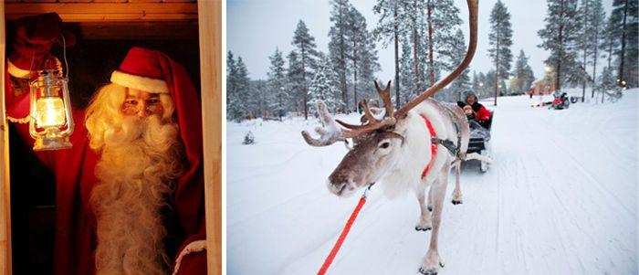 Win a family trip to Santa's Lapland