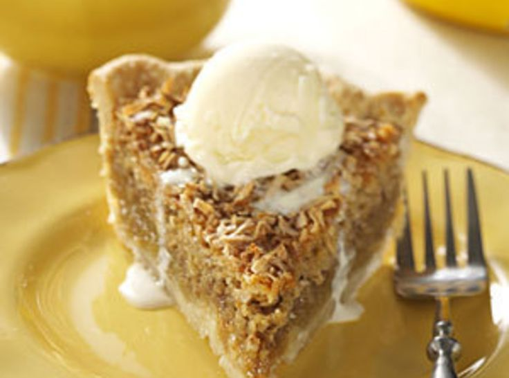 Maple Oatmeal Pie   Sweets and Decadence   Pinterest