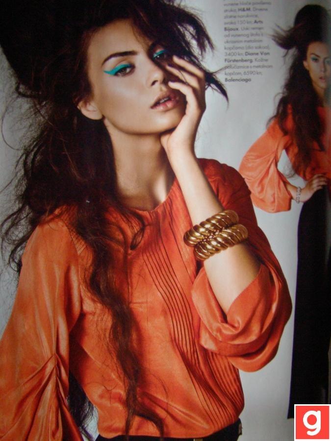 love this shade of orange!
