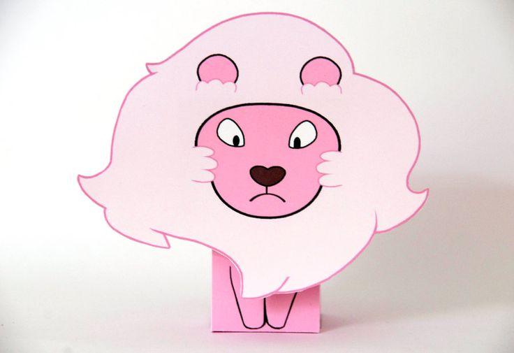 Steven Universe Lion Papercraft Cubeecraft By Scarykurt