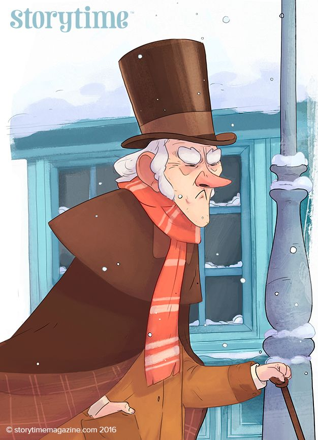 The ultimate Christmas baddie... Scrooge is being grumpy in our Storytime Issue 2 Christmas Special! Art by David Navarro (https://www.behance.net/navarroarenas) ~ STORYTIMEMAGAZINE.COM
