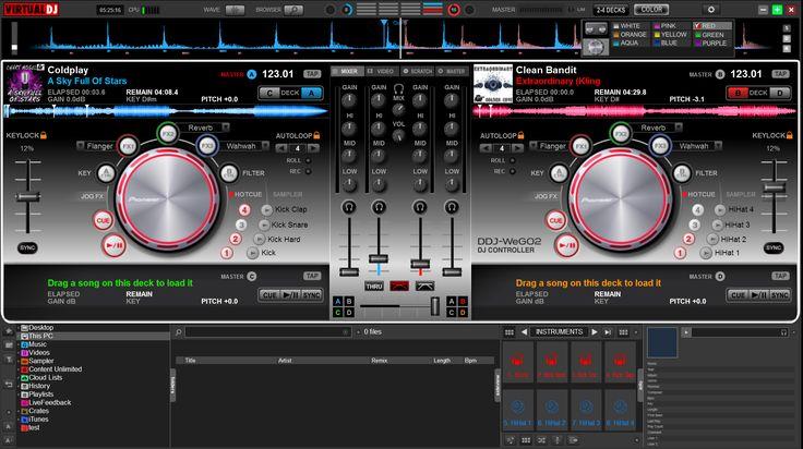 VIRTUAL DJ SOFTWARE - Descarga Complementos