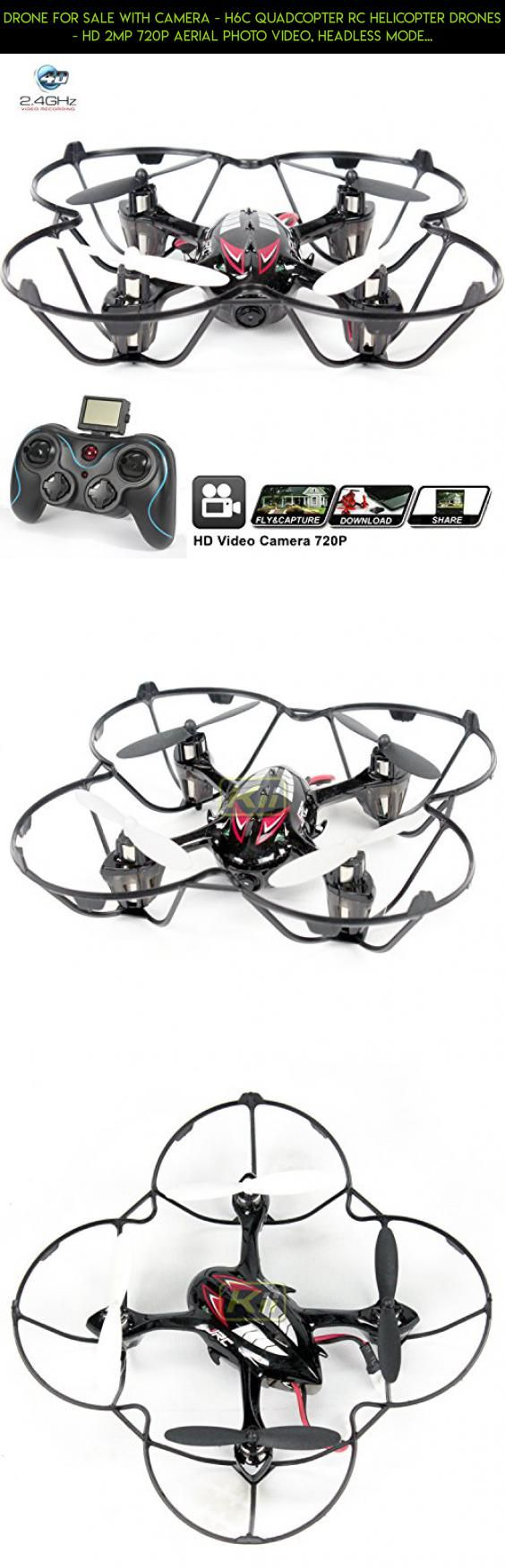 Drone for sale with Camera - H6C Quadcopter RC Helicopter Drones - HD 2MP 720p Aerial Photo Video, Headless Mode, 360 Stunt, 6 Axis Gyroscope, 2.4Ghz Radio Remote Control [USA Warranty + Tech Support] #parrot #technology #drone #gadgets #products #fpv #kit #external #racing #shopping #tech #plans #camera #parts #battery #charger