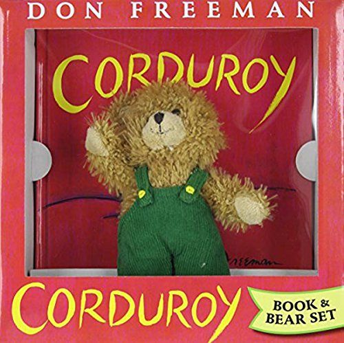 Corduroy (Book and Bear) by Don Freeman http://www.amazon.com/dp/0670063428/ref=cm_sw_r_pi_dp_1BuTwb1HGKJG8