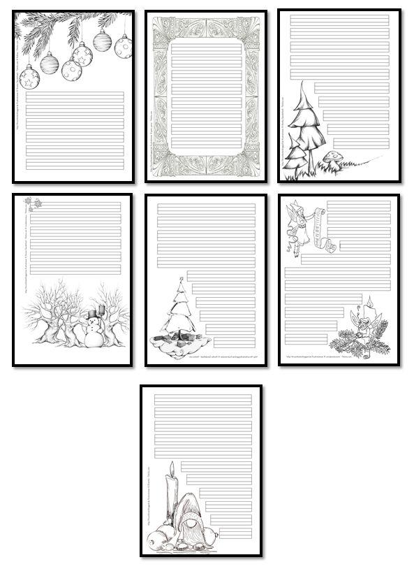 kruschkiste weihnachtliche schmuckrahmen weihnachten. Black Bedroom Furniture Sets. Home Design Ideas