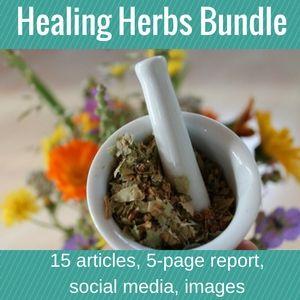 Healing Herbs PLR Bundle. #PLR #Privatelabelrights #DFY