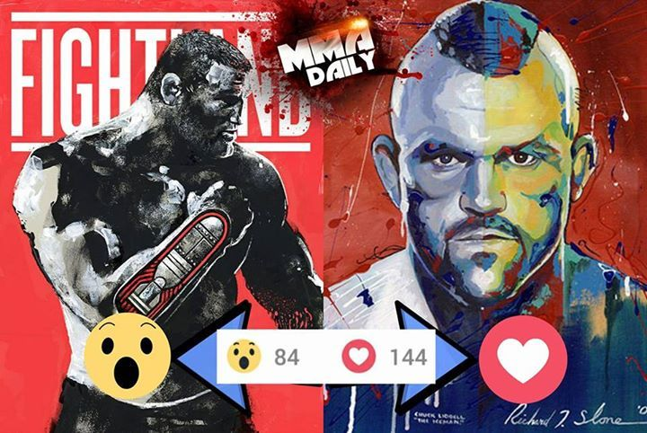 Yesterday we asked who would win between Dan Henderson and Chuck Liddell (in their prime)? The majority of you believe The Iceman would be victorious! #mma #ufc