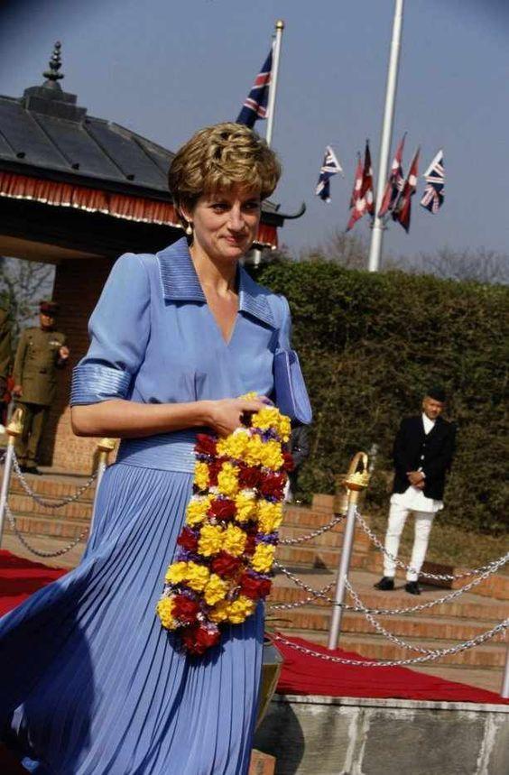 Rare photo. Princess Diana, 1993