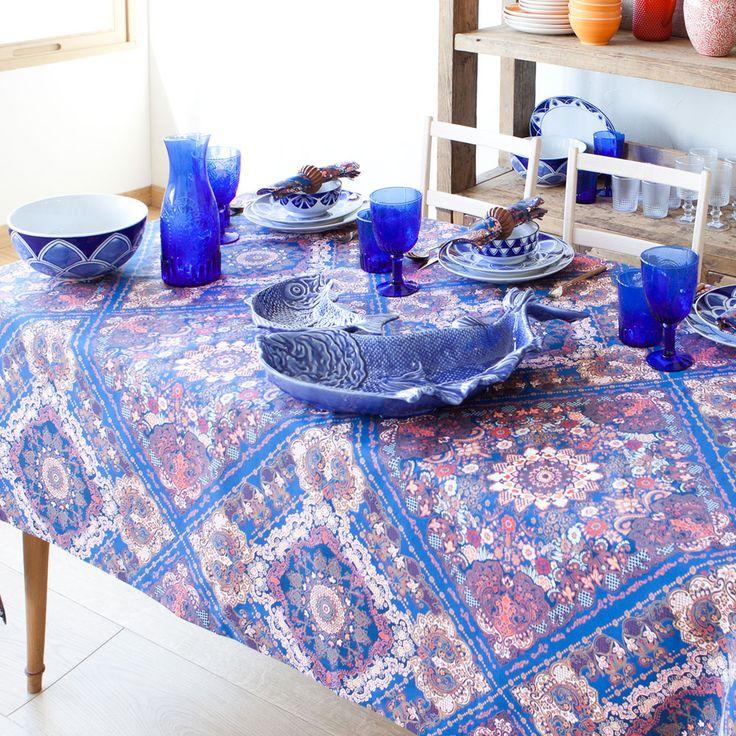 Multicoloured Paisley Tablecloth and Napkin | ZARA HOME 日本/Japan