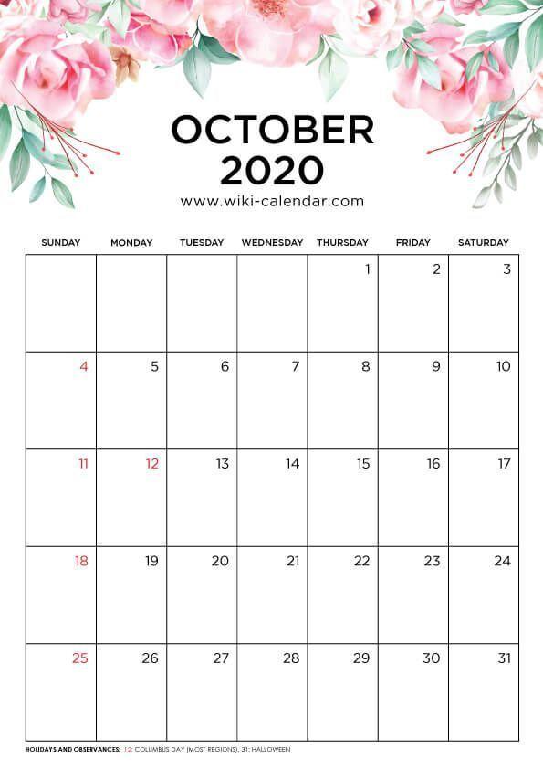 Best Photographs October 2020 Calendar Suggestions The Custom Made Wall Calendars Are Meant To Give Your 2020 Ajandalar Gunluk Planlayici Yazdirilabilir Planlayici