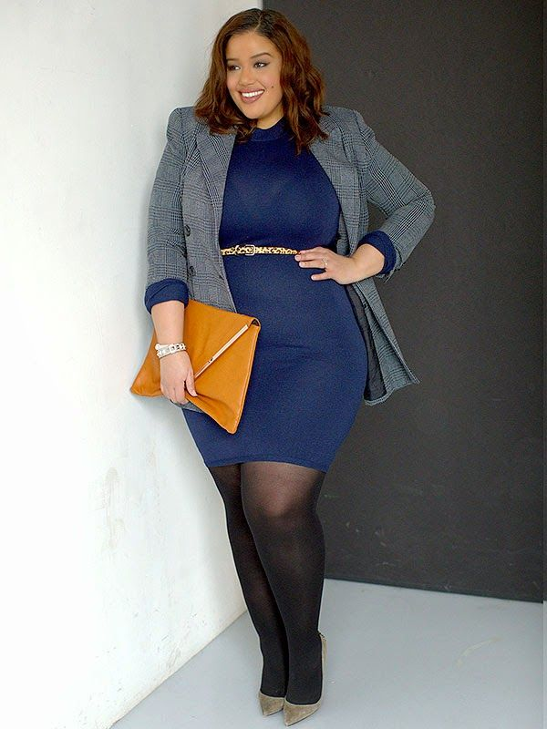 Plus Size Fashion - Inside Allie's World: Working It At Work With People Style Watch