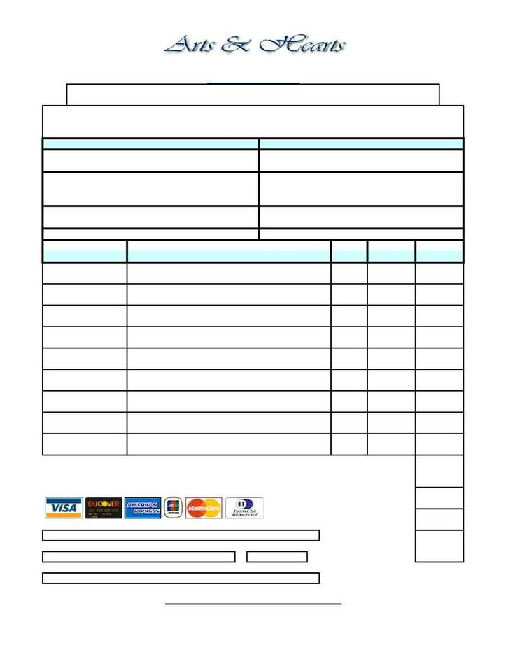 9 best images about Custom Order Forms – Free Printable Order Form