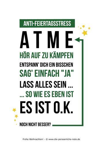 """Im Adventskalender der """"24 kleinen Wortgeschenke"""": Humorvolle Anti-Feiertagsstress-Karte (kostenloser PDF-Download)"""
