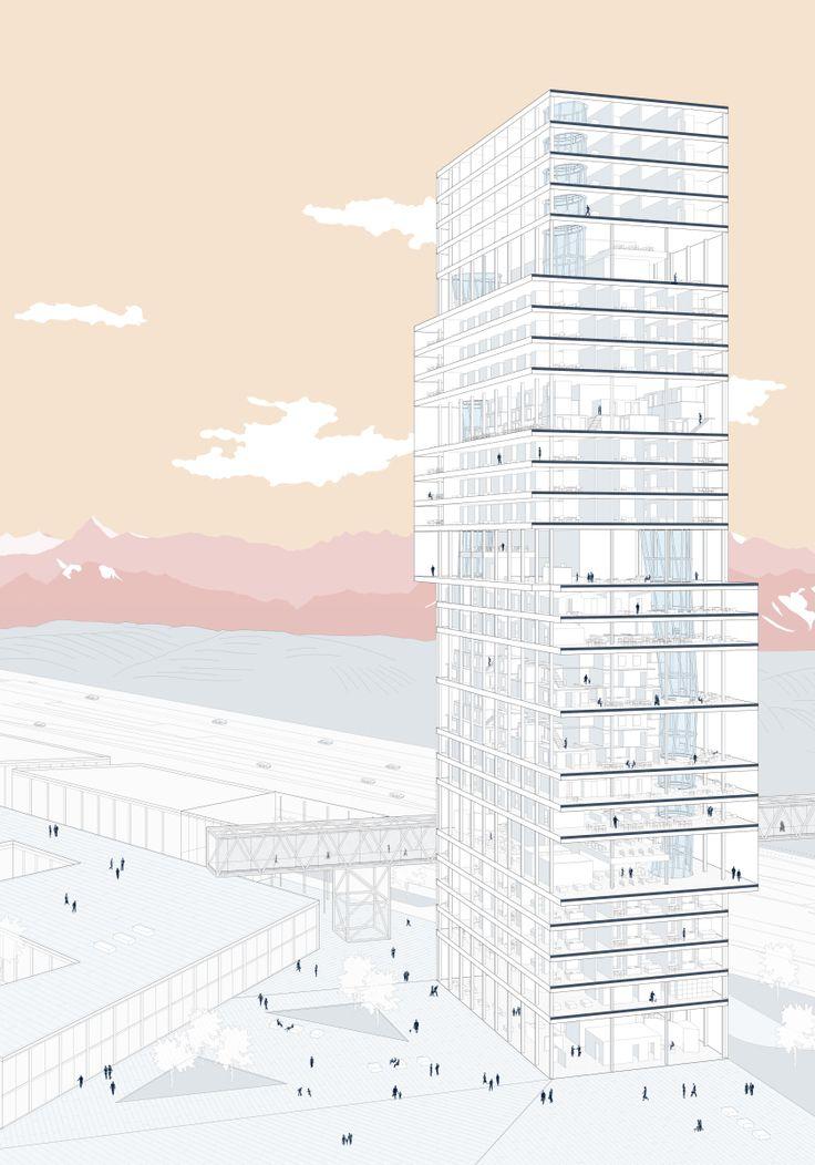 Vertical City | KooZA/rch  on WordPress.com #Architecture
