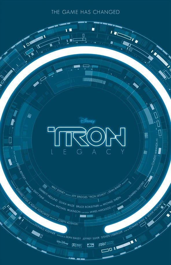 Tron Legacy poster | sci-fi | #ui #interface #scifi #terminator #cinema
