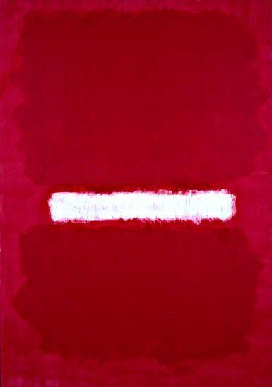Rothko. Latvian born - this is very like the Latvian flag :)
