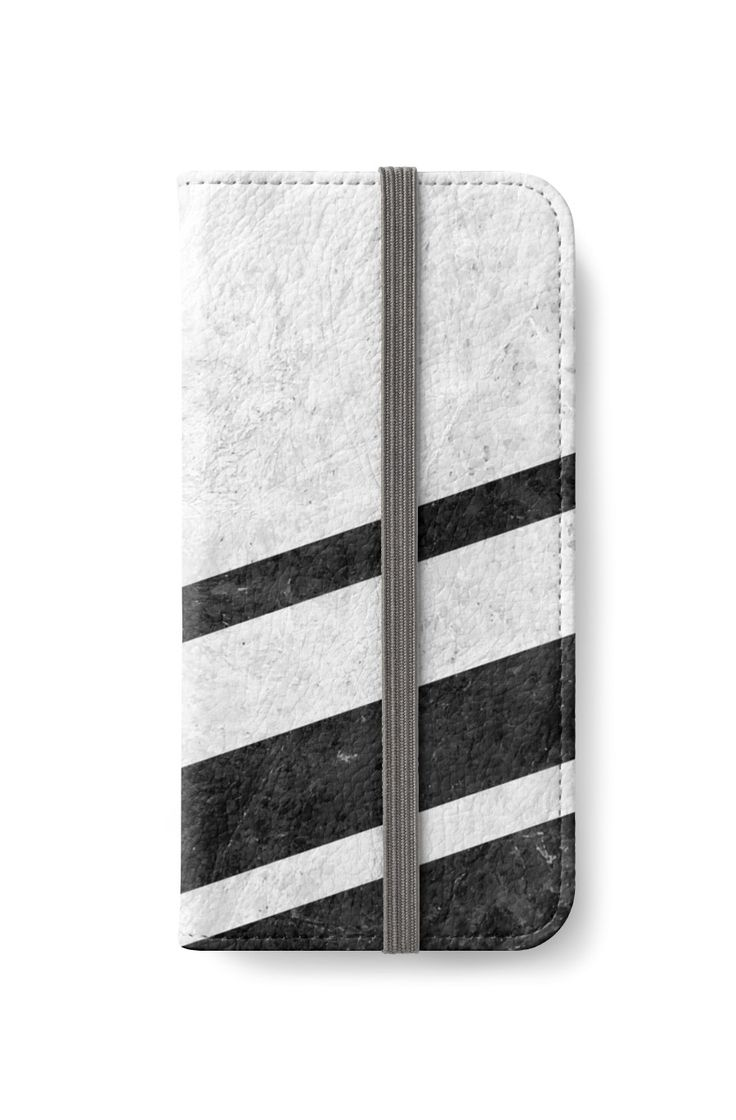 White Striped Marble by ngdesign81 #marble #stone #texture #pattern #black #white #stripe #striped #iphone #wallet