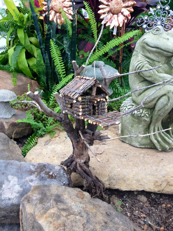 Miniature Tree House 38 best garden images on pinterest | fairies garden, mini gardens