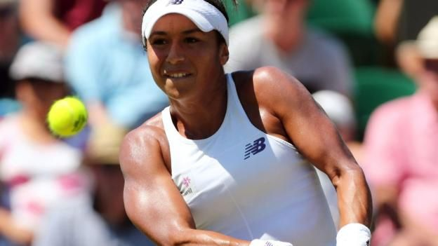 Heather Watson has reached the third round of Wimbledon for the third time after also doing so in 2012 and 2015     Wimbledon 2017 on the BBC     Venue: All England Club Dates: 3-16 July Starts: 11:30 BST   Live: Coverage across BBC TV, BBC Radio and BBC Sport website with further coverage on...