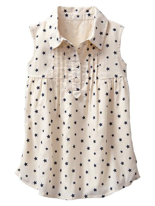 Starry pintuck shirtdress Product Image