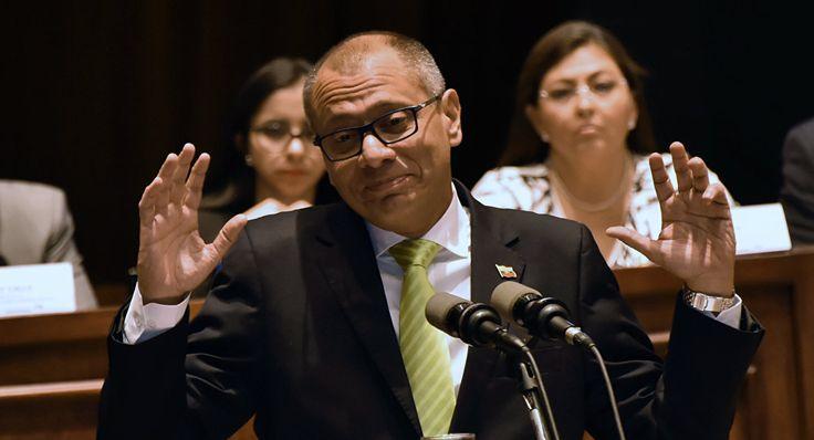 Procuraduría de Ecuador acusa a vicepresidente por el caso Odebrecht