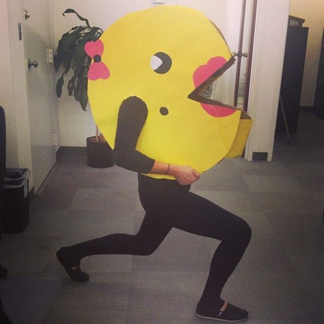 Pin for Later: 101 Totally Rad Halloween Costumes Inspired by the '80s Pac-Man