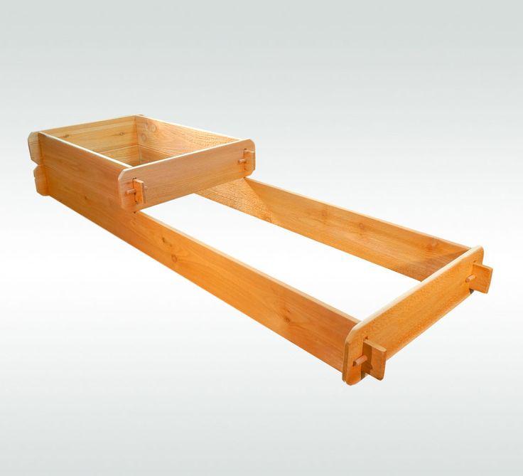 Timberlane Gardens Raised Garden Bed Kit 2 Tiered (2x3 2x6) Western Red Cedar