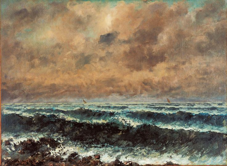 Gustave Courbet Poster - Autumn Sea