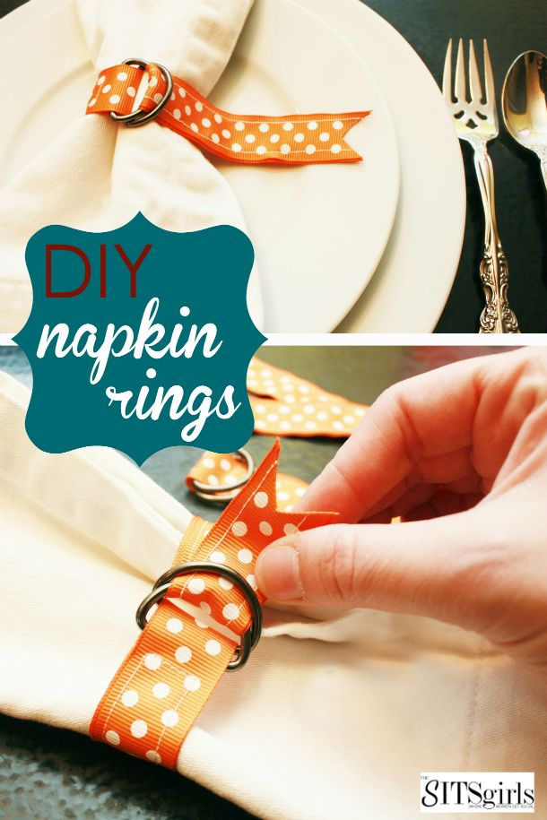 25 best ideas about napkin rings on pinterest napkin for Diy fall napkin rings