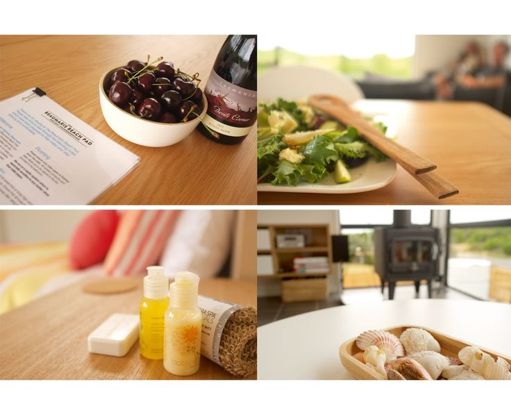 Arrive to the Beaumaris Beach Pad to a delicious bottle of local pinot and luxury products... sit back and relax! http://www.beaumarisbeachpad.com.au/