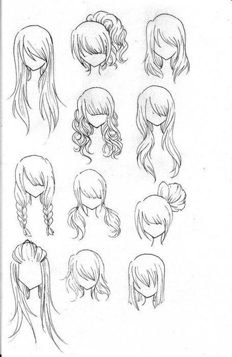 fashion hair, for future sketches
