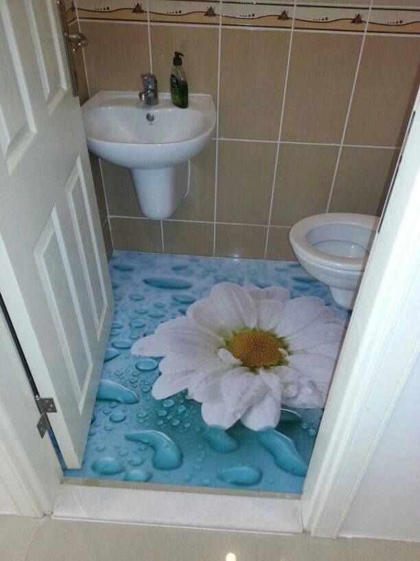 30 Best 3D Bathroom Floor Design Images On Pinterest  Bathroom Fascinating 3D Tiles For Bathroom Decorating Design