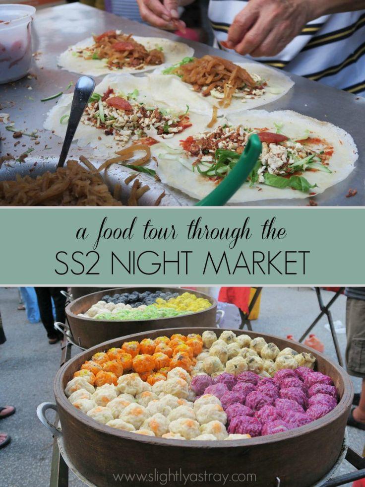A DIY food tour through a Malaysian Night Market (SS2 @ Petaling Jaya)