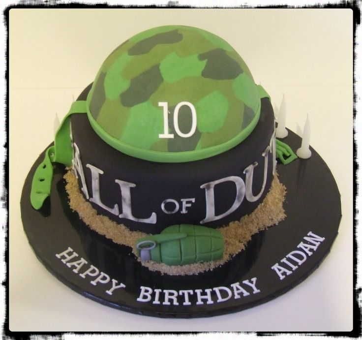 Best Call Of Duty Cake Ideas Images On Pinterest Cake Ideas - 11th birthday cake ideas