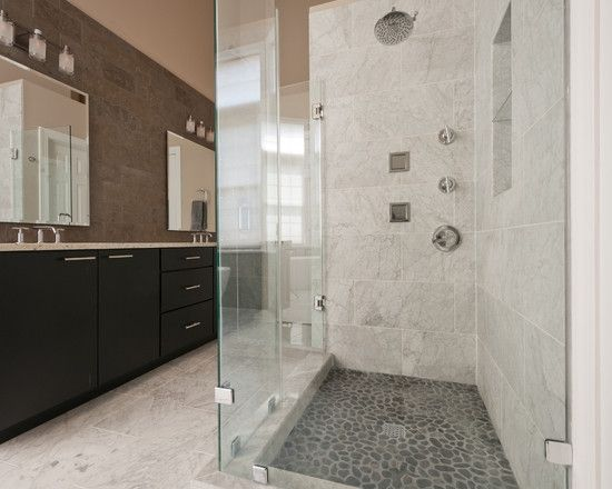 1000 Images About Bathrooms On Pinterest Carrara Marble White Marble And Dark Wood Floors