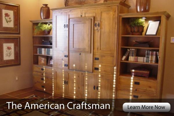 American Craftsman Murphy Bed