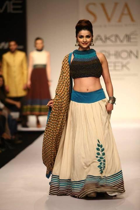 #Prachi #Desai in #SVA Couture