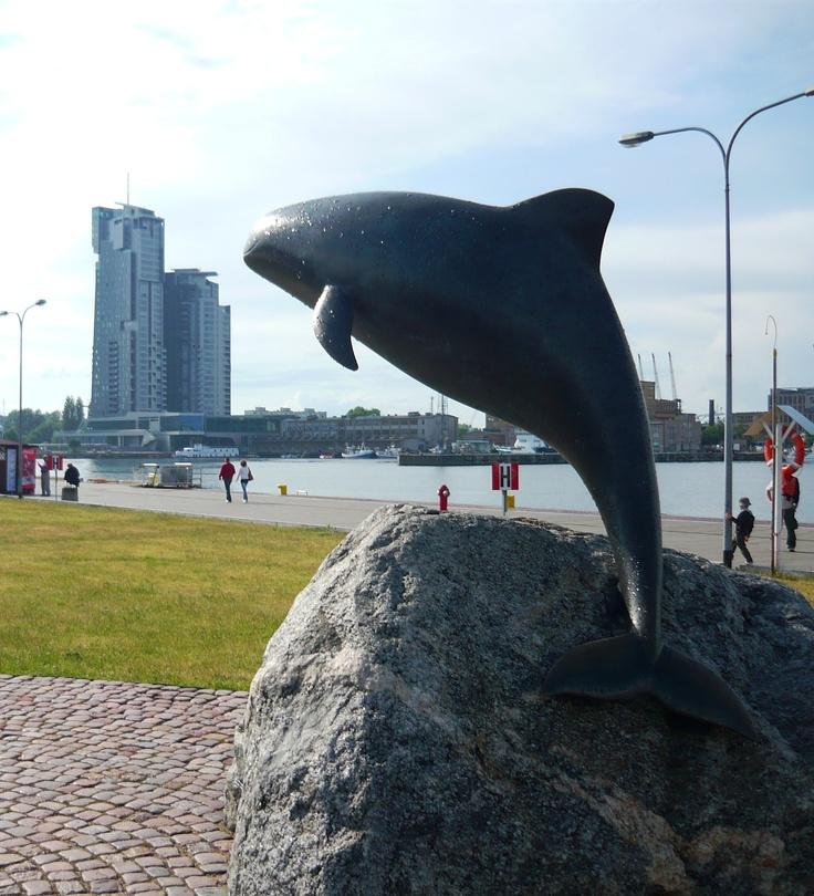 Pomnik morświna www.gogdynia.pl