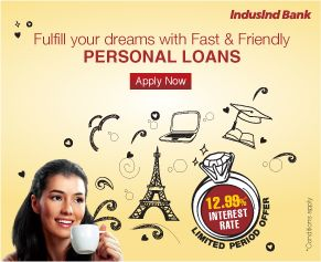 Obtain a Personal Loan with Ease at Indusind Bank