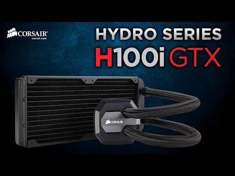 The Hydro Series H100i GTX liquid CPU cooler has a 240mm radiator and dual SP120L PWM fans for the excellent heat dissipation you need for highly overclocked CPUs.